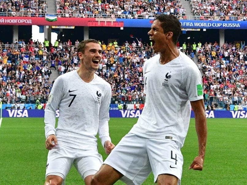 FIFA World Cup  Antoinne Griezmann Inspires France Past Punchless Uruguay a46da19b7