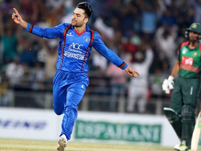 Rashid Khans Four-For Helps Afghanistan Clinch T20I Series vs Bangladesh