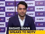 Video : IPL 2018: My Followers Are Increasing Day By Day, Says Rashid Khan