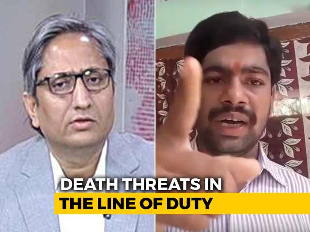 Video : NDTV's Ravish Kumar Gets Death Threats: Are Journalists Soft Targets?