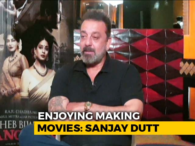 Video : 'I Feel Free Now,' Says  Sanjay Dutt