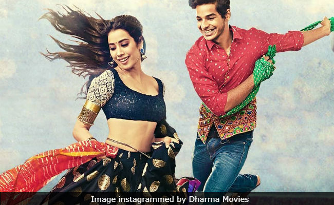 Janhvi Kapoor-Ishaan Khatter's film dominates box office