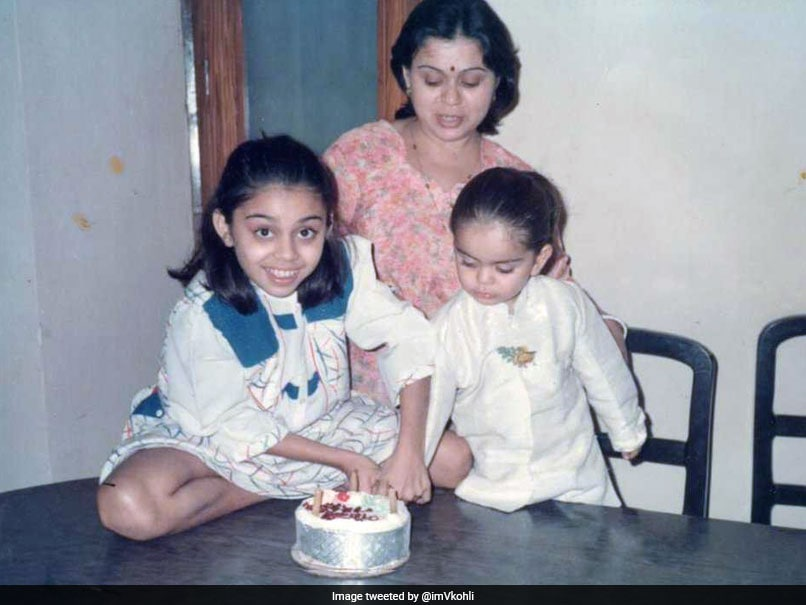Virat Kohli Shares Throwback Picture With Sister On Raksha