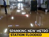 Video : Delhi Metro Station Flooded Days Before Its Opening