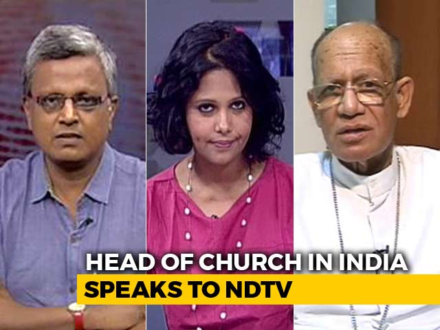 Video : Why Indian Christians Feel 'Anxious': India Church Head Speaks To NDTV
