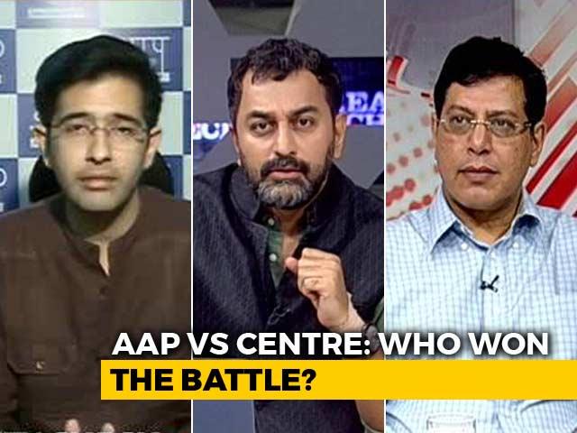 Video : AAP vs Centre: Who Won The Battle?