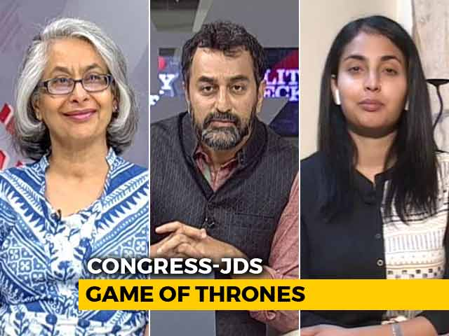 Video : Congress-JDS: Power Struggle?