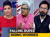 Video : The Politics Of Falling Rupee