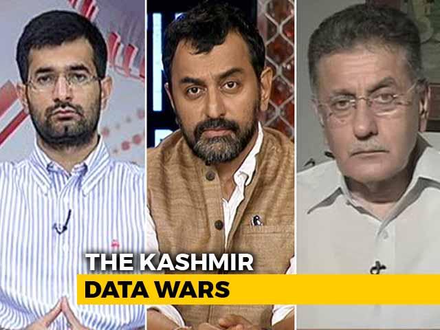 Video : NDA vs UPA: Kashmir's Data Wars