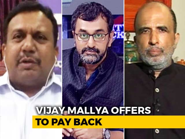 Video : Vijay Mallya Offers To Pay: Bogus Or Real?