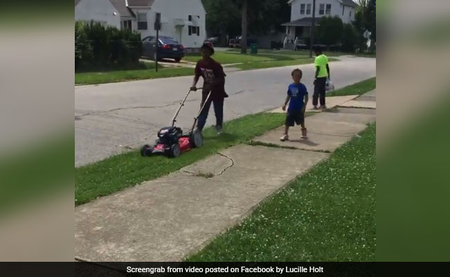 A White Woman Called Police On A Black 12-Year-Old - For Mowing Grass