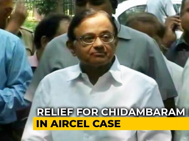 Video : P Chidambaram Can't Be Arrested Till July 10 In Aircel-Maxis Case