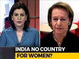 Video : Thomson Reuters Foundation Chief On Survey Showing India Most Dangerous Country For Women