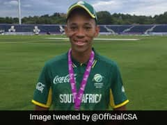 Makhaya Ntinis Son Thando Shines In South Africa U-19 Win Over England