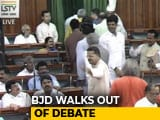 Video : No-Trust Debate Begins With BJD Walkout, Shiv Sena Stays Away
