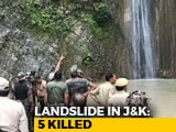 Video : 5 Killed, 25 Injured As Boulder Rolls Down Waterfall In Jammu And Kashmir