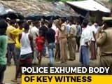 Video : Body Of Unnao Rape Case Witness Exhumed Despite Family's Disagreement