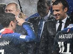 Emmanuel Macron Can Thank His Stars, Again, As <i>'Les Bleus'</i> Win World Cup