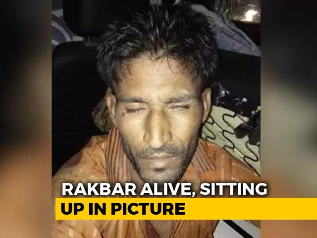 "Video : ""See, He Looks Fine"": Photo Of Mob Victim Puts Rajasthan Cops In A Spot"