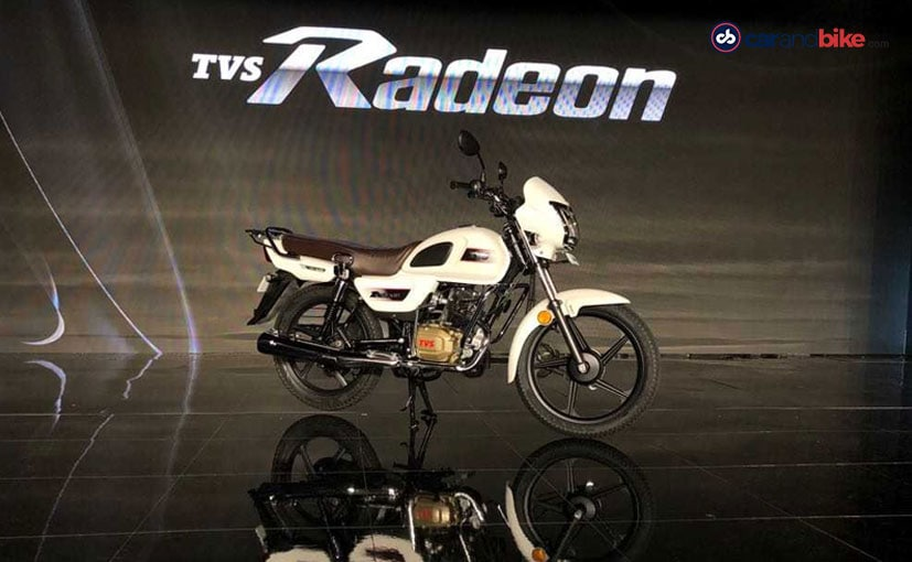 The TVS Radeon is the newest 110 cc commuter motorcycle and takes on the Hero Splendor