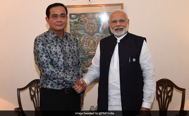 PM Modi Holds 'Productive Talks' With Thai Prime Minister