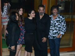 Pics: Sanjay Dutt's Birthday Party Attended By Madhavan, Chunky Panday, Bhavana And Others