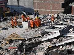 Noida Building Collapse Updates: 3 Dead, Disaster Relief Teams At Spot