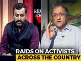 "Video: On Raids On Activists, Ramachandra Guha Blames ""Corporate Cronies Of Government"""
