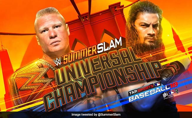 WWE SummerSlam 2018: सुपरमैन पंच मारकर Roman Reigns बने चैम्पियन, ऐसे दी Brock Lesnar को धोबी पछाड़