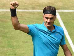Roger Federer Holds Off Ebden To Reach Halle Semi-Finals