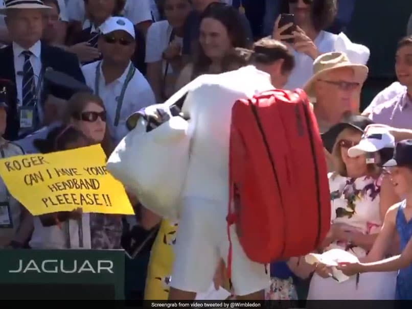 Wimbledon 2018: Watch Roger Federer Make A Brilliant Gesture Towards Indian-Origin Fan