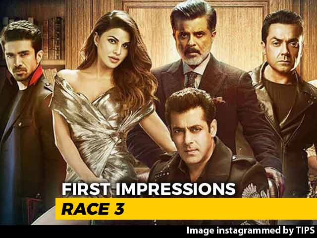 First Impressions Of Salman Khan's Race 3
