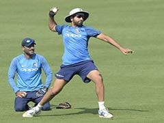 Watch: Rohit Sharma Throws Ceremonial