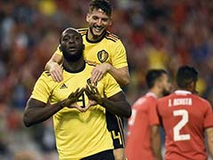 FIFA World Cup: Romelu Lukaku Scores Twice As Belgium Rip Into Costa Rica In Warm-Up Match