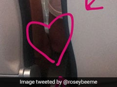 Woman Documents Unfolding Of A Love Story On A Plane, Internet Hearts It