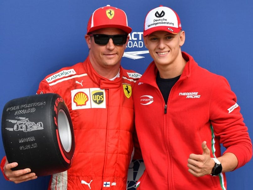 Kimi Raikkonen Edges Sebastian Vettel To Italian Grand Prix Pole As Ferrari Roar