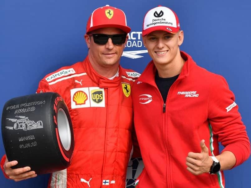 Kimi Raikkonen Edges Sebastian Vettel To Italian Grand Prix Pole As Ferrari Roar