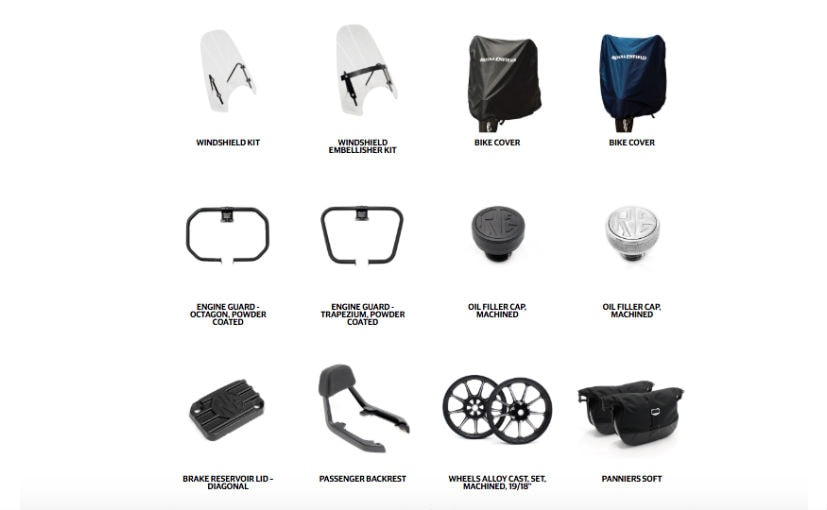royal enfield thunderbird x accessories