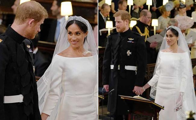 Duchess Of Sussex Meghan Markle Looks Resplendent In Givenchy At Her Royal Wedding