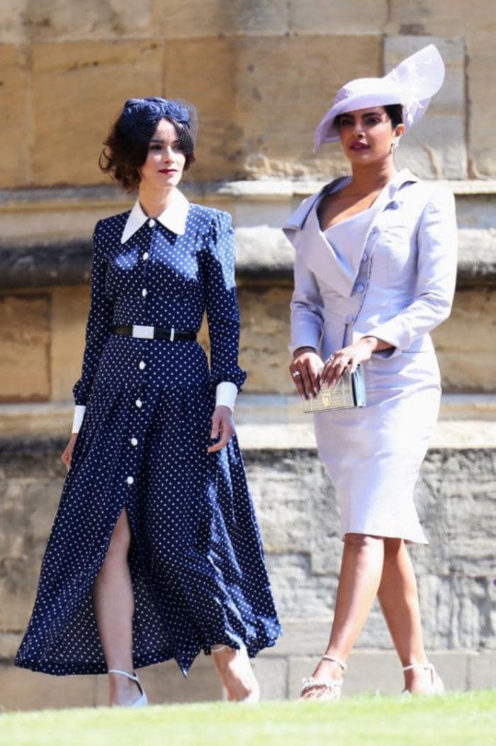 Amal Clooney Royal Wedding.Celeb Style At The Royal Wedding George And Amal Clooney Priyanka