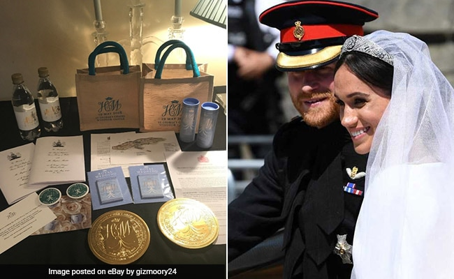 Royal Wedding Guests Are Auctioning Off Their Official Goody Bags