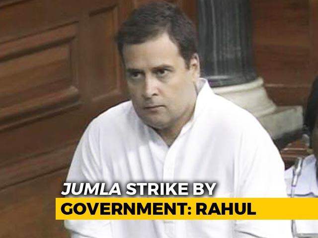 Video : Watch Rahul Gandhi's Speech During No-Trust Debate In Parliament