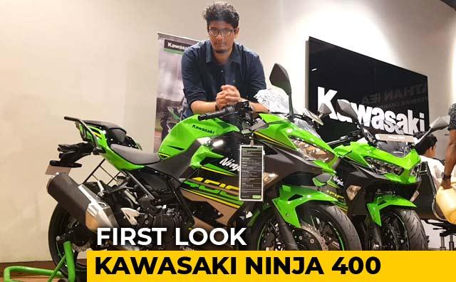 Kawasaki Ninja 400 First Look