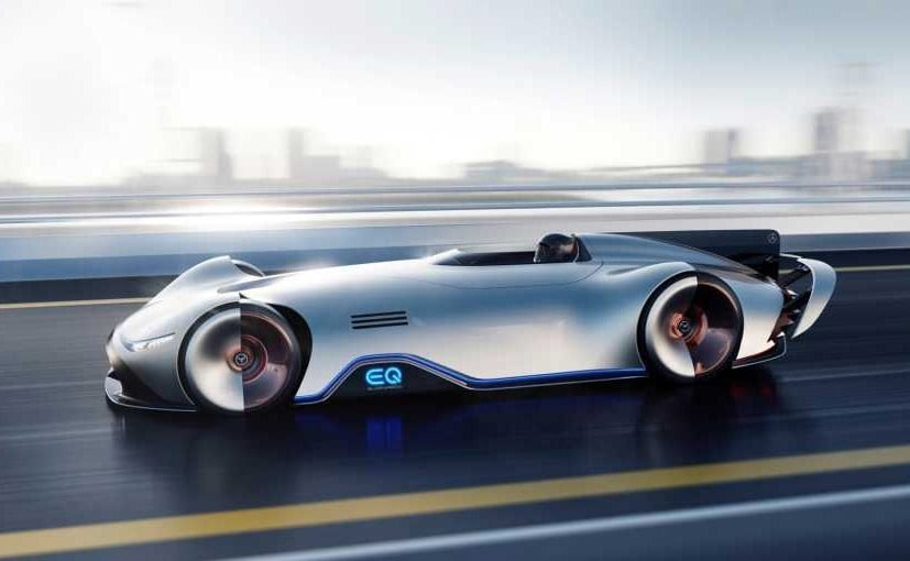The Eq Silver Arrow Concept S Body Structure Is Made Of Carbon Fibre Mercedes Benz