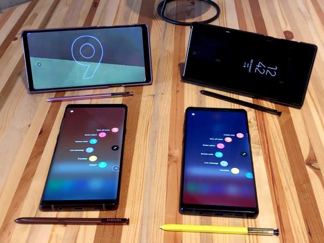 Video : Samsung Galaxy Note 9 First Look: Meet Samsung's Latest Flagship