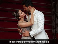 Magical Pics From Rubina Dilaik And Abhinav Shukla's Mumbai Reception