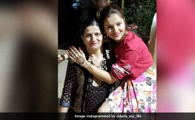 Inside Rubina Dilaik's Mehendi Function. See Bride-To-Be's Cute Pic With Her Mom