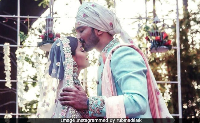 Newlyweds Rubina Dilaik And Abhinav Shukla Share Dreamy Wedding Pics