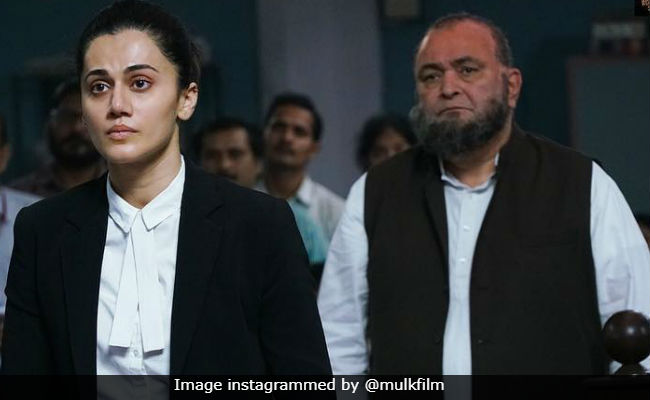 Mulk: No Stay On Release Of Rishi Kapoor, Taapsee Pannu's Film, Says Director
