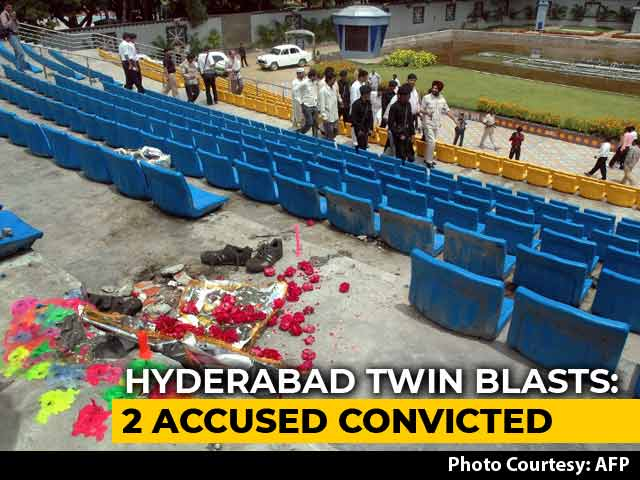 Video : 2 Indian Mujahideen Men Convicted For Hyderabad Twin Blasts, 2 Acquitted